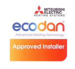 ecodan approved installer accreditation for mechanical and electrical services
